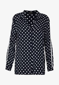 More & More - BLOUSE 1/1 SLEEVE - Blouse - dark blue - 4