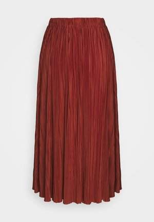 UMA SKIRT - Pleated skirt - picante