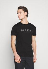 Jack & Jones PREMIUM - JPRBLACLEAN TEE CREW NECK - Print T-shirt - black - 0