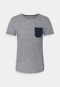 TOM TAILOR DENIM - Print T-shirt - dark blue - 5
