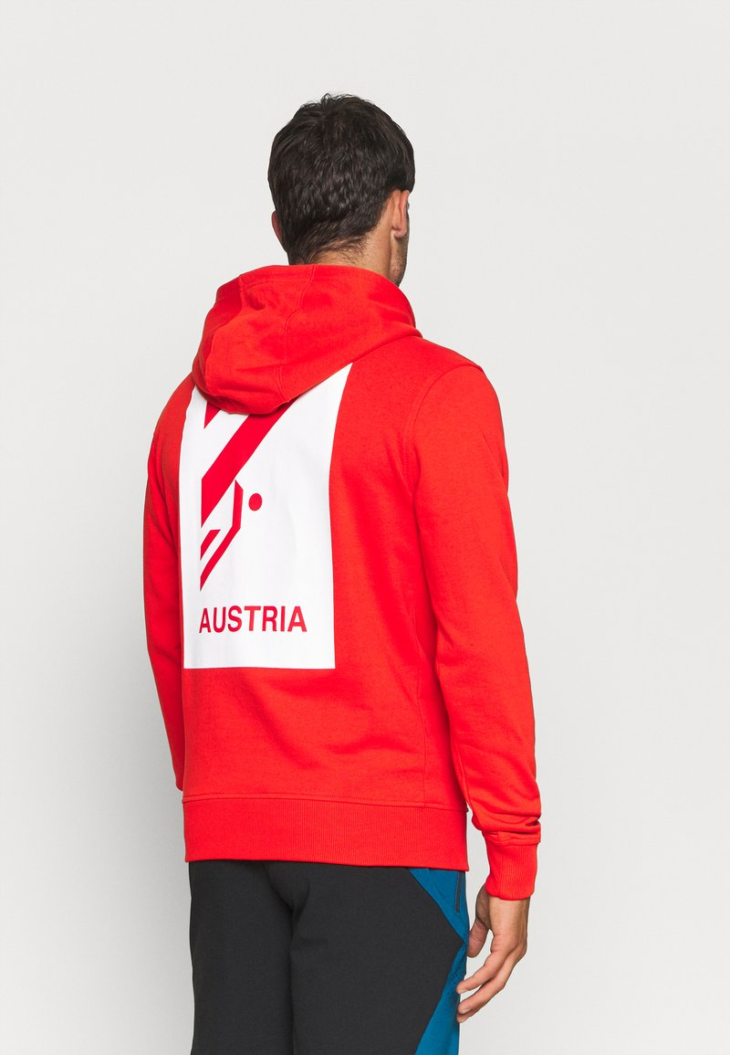 The North Face - IC CLASSIC HOODIE CLIMB - Luvtröja - fiery red