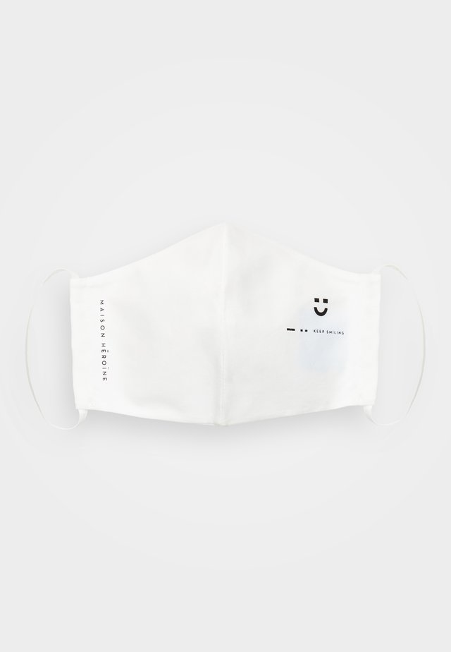 KEEP SMILING - Community mask - white