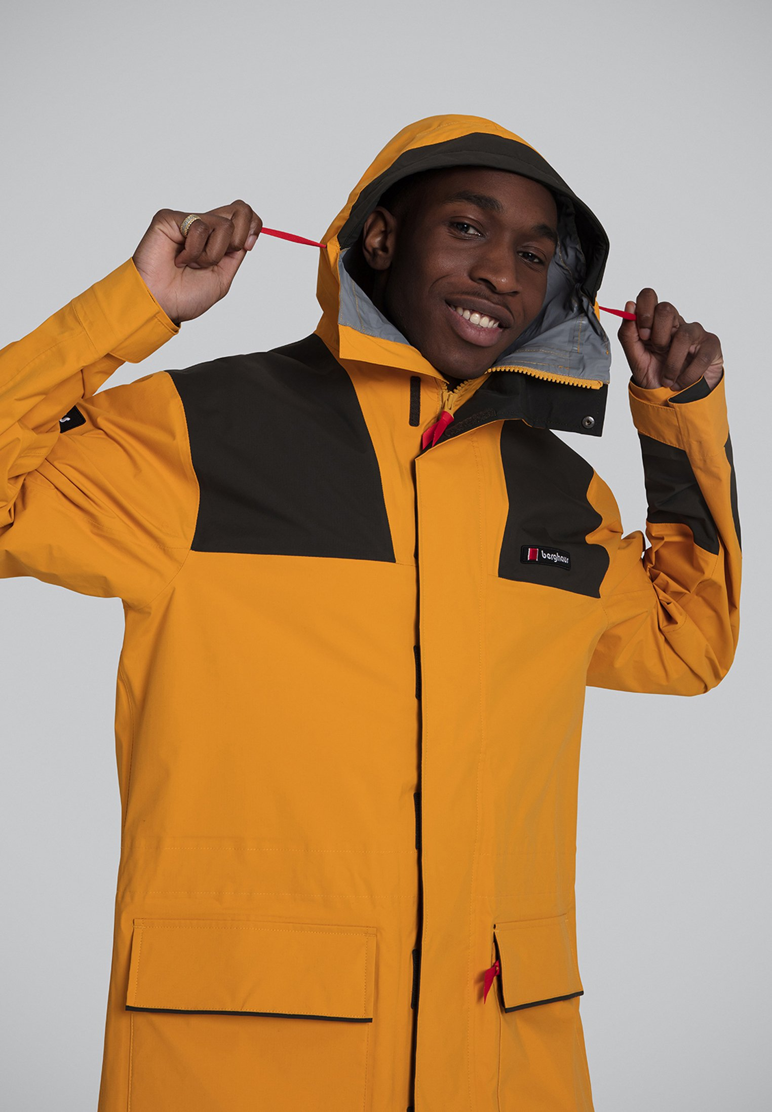 Berghaus MISTRAL 76 - Parka - yellow