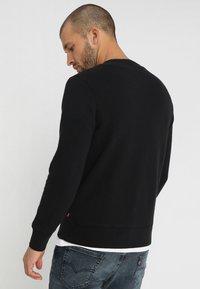 Levi's® - GRAPHIC CREW - Sweatshirt - logo  crew mineral black - 2