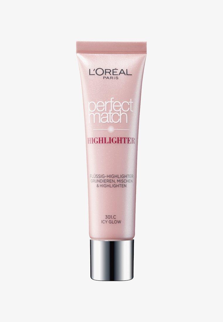 L'Oréal Paris - PERFECT MATCH HIGHLIGHT - Highlighter - 301 icy glow