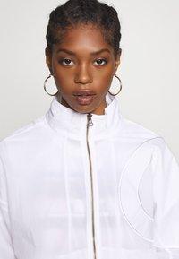 Champion Reverse Weave - FULL ZIP TOP - Summer jacket - white - 3