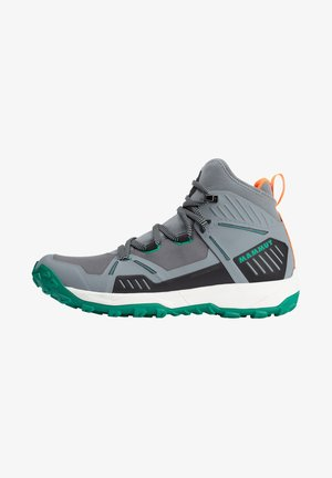 SAENTIS PRO WP - Hiking shoes - granit light emerald