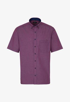 COMFORT FIT - Shirt - rot/blau