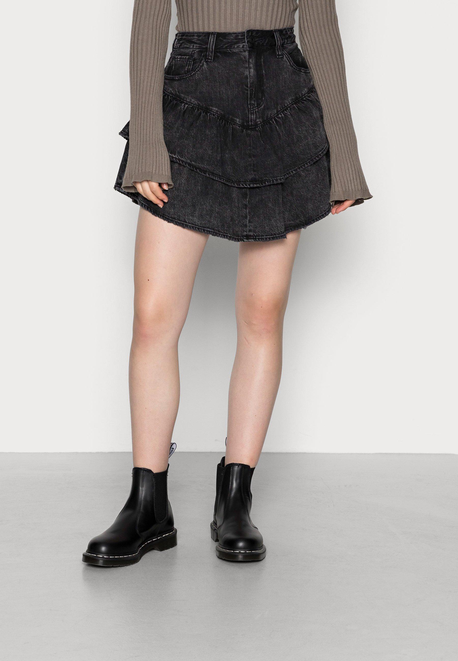 Damer DOUBLE TIER SKIRT - A-snit nederdel/ A-formede nederdele