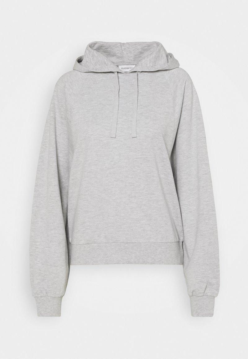 Even&Odd - Jersey con capucha - light grey
