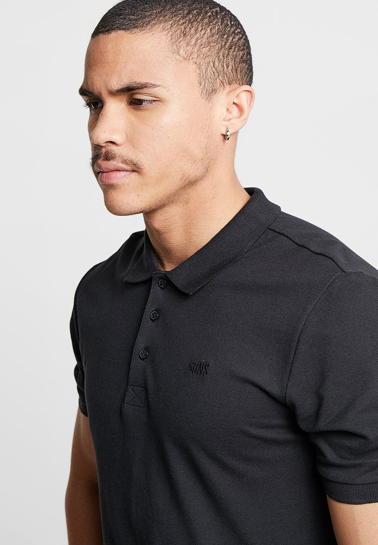 Only & Sons ONSSCOTT - Polo shirt - black py3vy