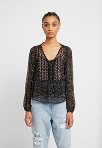 Hollister Co. - FASHION - Blouse - black mix - 0