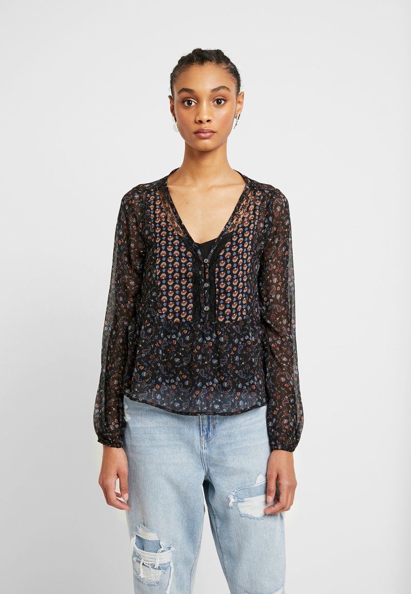 Hollister Co. - FASHION - Blouse - black mix