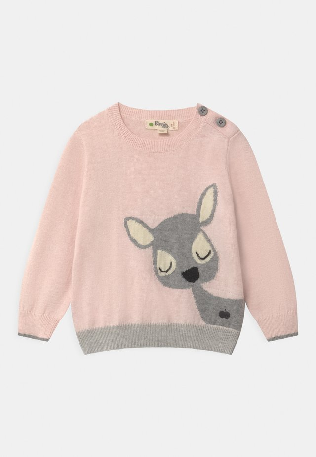 DEER INTARSIA  - Maglione - pink