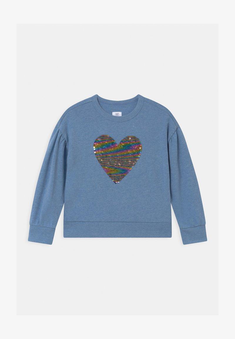 GAP - GIRLS FLIPPY BOXY - Sweater - light indigo
