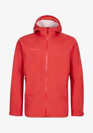 Waterproof jacket - dark spicy