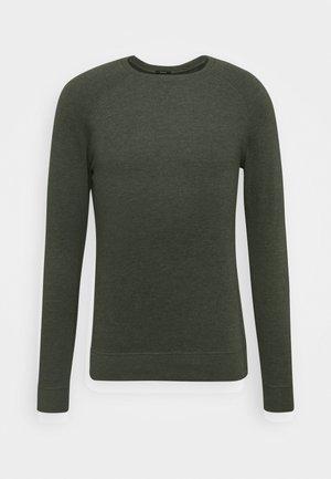 CREW - Sweatshirt - climbing ivy green