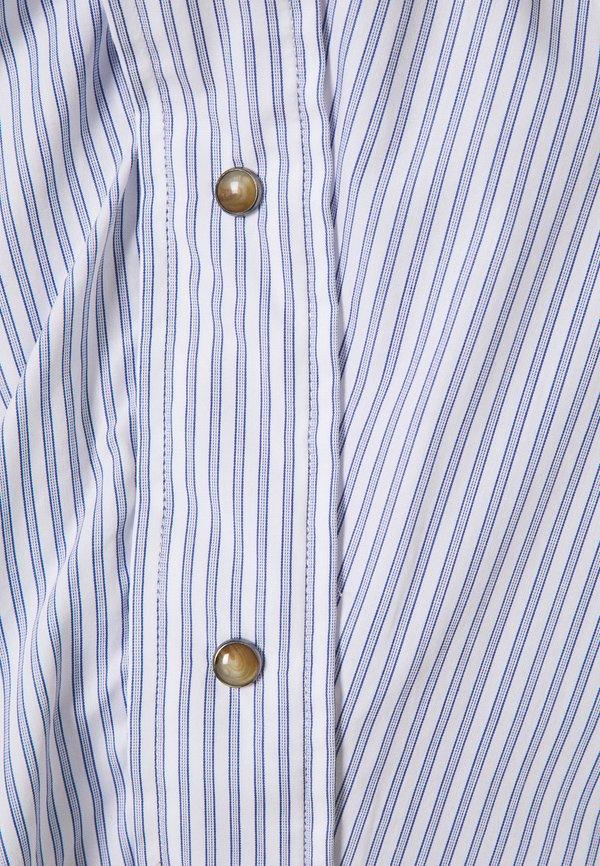 Vivienne Westwood CHAOS - Bluzka - blue stripe/niebieski ITAP