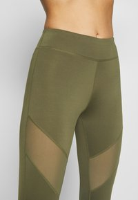 Even&Odd active - Leggings - olive - 4
