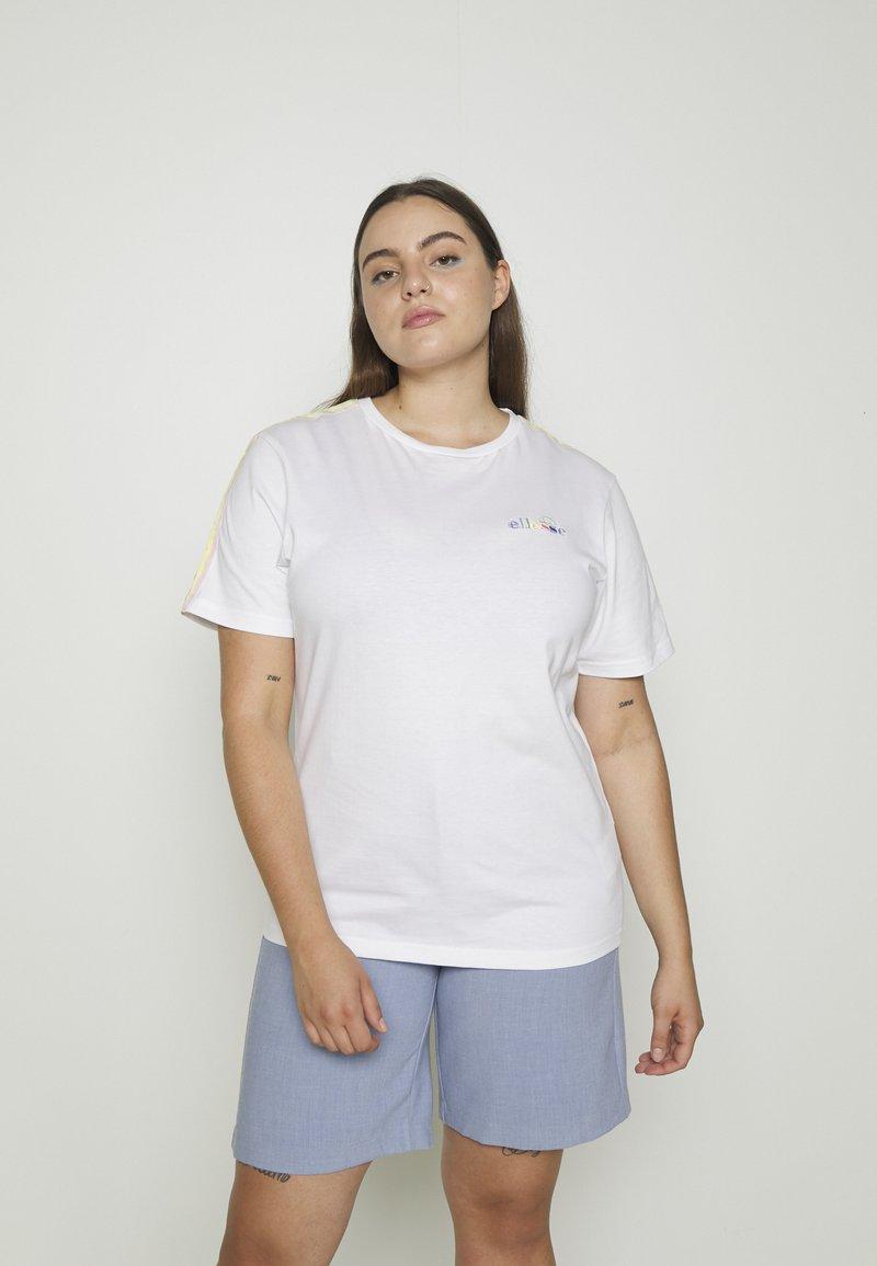 Ellesse - MADELENA - Print T-shirt - white