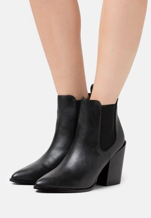 KLEIN - High heeled ankle boots - black