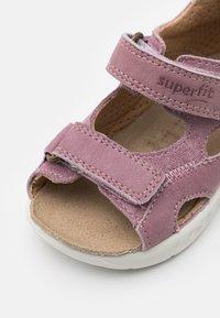 Superfit - LAGOON - Sandals - lila/rosa - 5