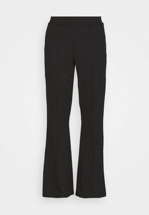 JULIA TROUSERS - Trousers - black