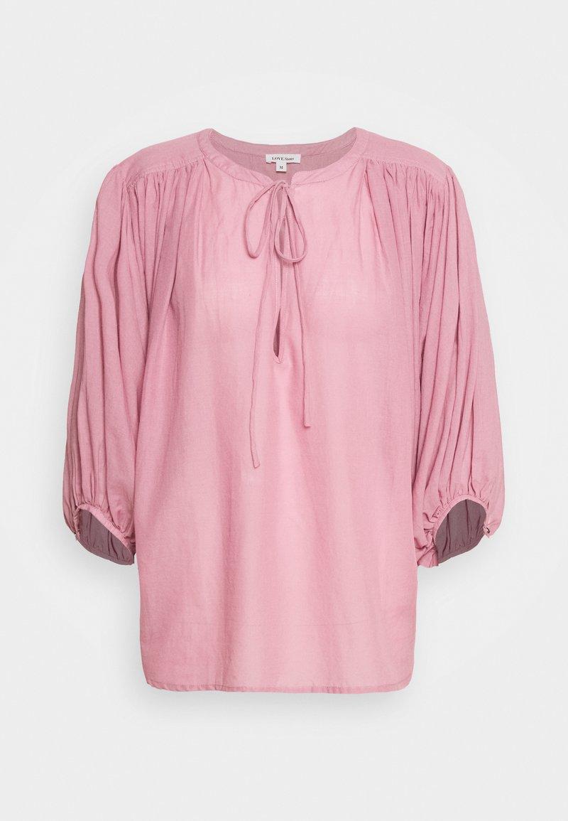 LOVE Stories - MERCI - Haut de pyjama - pink