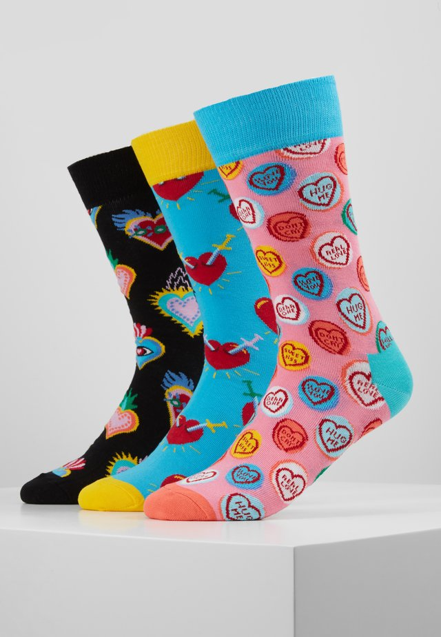 I LOVE YOU GIFT BOX 3 PACK - Socks - multi-coloured