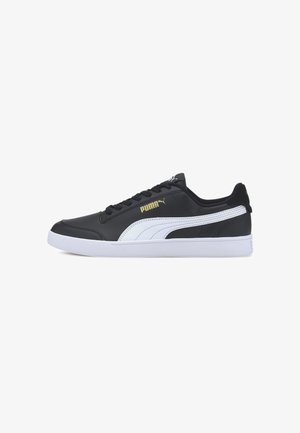 Trainers -  black white-gold