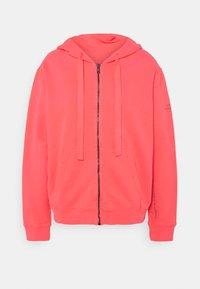 Ecoalf - BASIC HOODIE - veste en sweat zippée - fucsia - 0