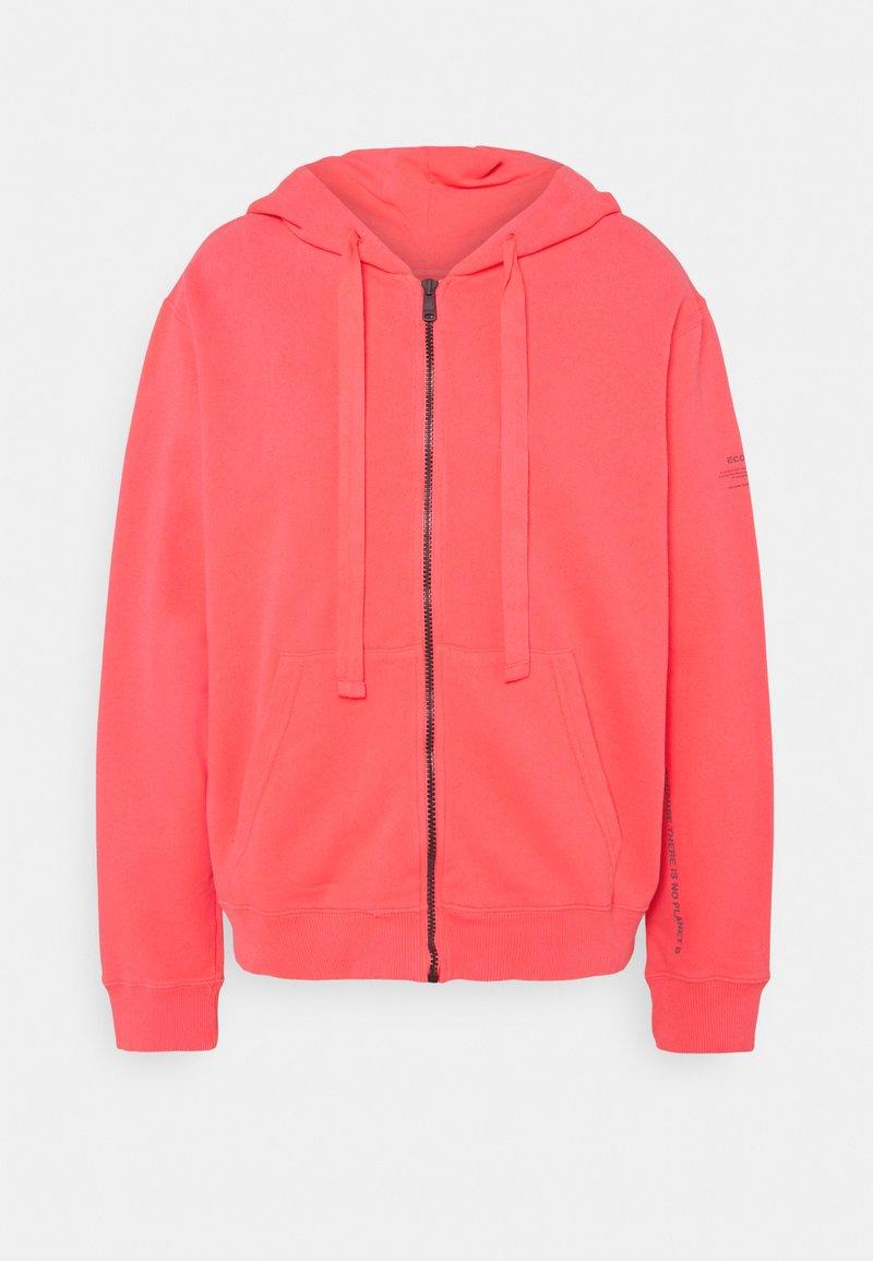 Ecoalf - BASIC HOODIE - veste en sweat zippée - fucsia