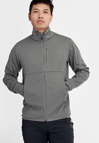 Mammut - ULTIMATE  - Soft shell jacket - titanium phantom melange - 2