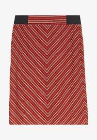 TOM TAILOR - SKIRT  - Pencil skirt - red - 0