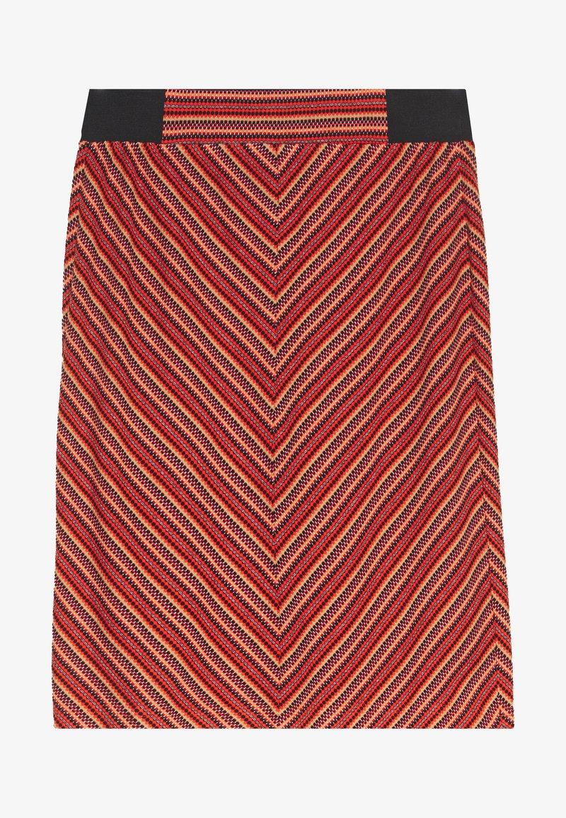 TOM TAILOR - SKIRT  - Pencil skirt - red