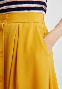 Monki - SIGRID SKIRT - A-line skirt - mustard - 4