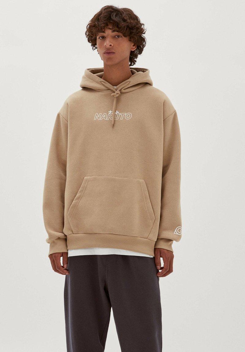 PULL&BEAR - NARUTO - Sweatshirt - mottled beige