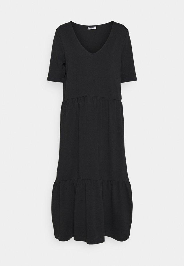 NMNADIA CALF DRESS - Vestito estivo - black