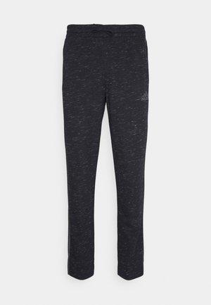 Pantalones deportivos - black melange