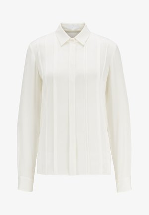 BESANA - Button-down blouse - natural
