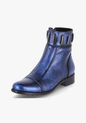 Ankle boots - marineblau