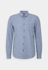TOM TAILOR DENIM - STRIPED LONG SLEEVE - Skjorta - blue - 4
