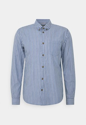 STRIPED LONG SLEEVE - Camicia - blue