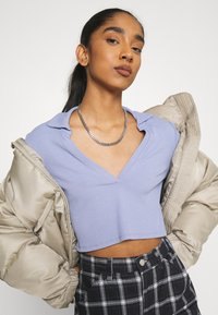 Monki - FREDDIE TOP - Longsleeve - blue - 3