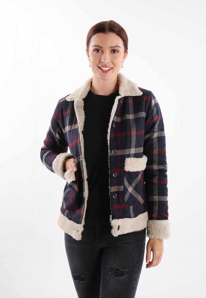 Felix Hardy - Light jacket - navy red