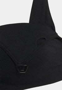 Lindex - NURSING BRA 2 PACK - Topp - black/white - 4