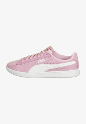 Trainers - pale pink-white-silver