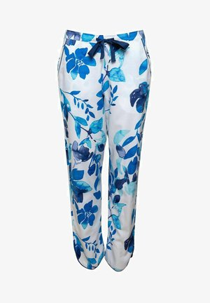 Pyjamahousut/-shortsit - blue floral