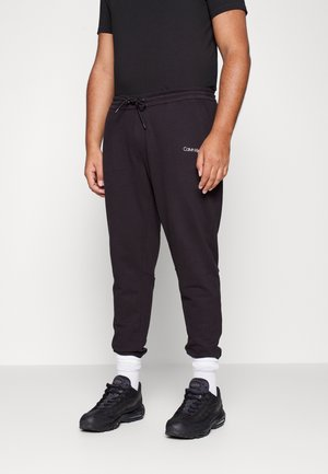 SMALL LOGO - Teplákové kalhoty - black