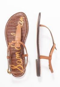Sam Edelman - GIGI - Sandalias de dedo - saddle - 3